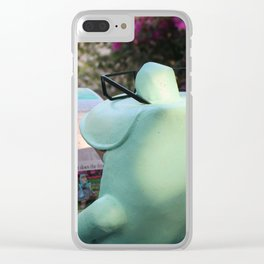 Frog News Clear iPhone Case