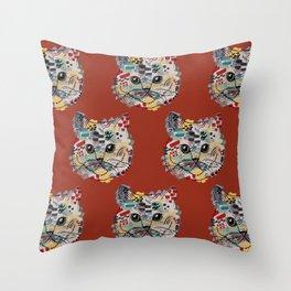 Miss Cat Sffjjyuu 1 Throw Pillow