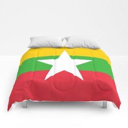 flag of Myanmar Comforters