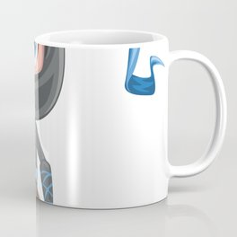 Cartoon Ninja Game Character Coffee Mug
