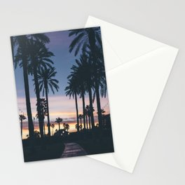 SUNRISE - SUNSET - PALM - TREES - NATURE - PHOTOGRAPHY Stationery Cards