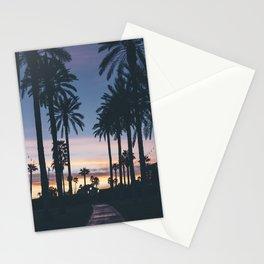 SUNRISE - SUNSET - PALM - TREES - NATURE - PHOTOGRAPHY Stationery Cards
