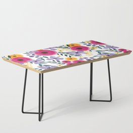 Spring Floral Bouquet Coffee Table