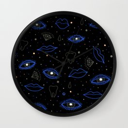 precious night vision Wall Clock