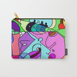 Can you spot the faces? Carry-All Pouch