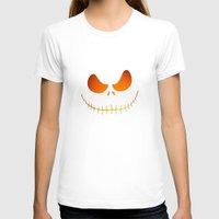 jack skellington T-shirts featuring Jack Skellington Nightmare by neutrone