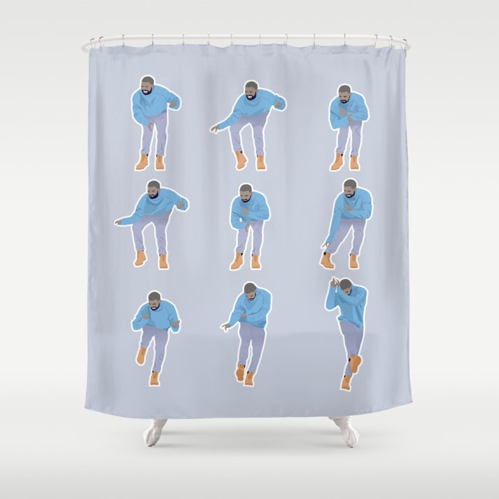 Hotline Bling Shower Curtain