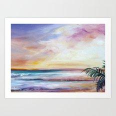 Sur La Sol Art Print