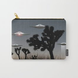Joshua Tree Space Invasion by C.Reyes Carry-All Pouch