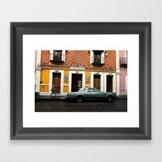 La Casa Del Sol Framed Art Print