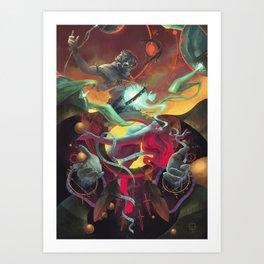 The tribe of dawn Art Print