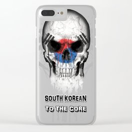 To The Core Collection: South Korea Clear iPhone Case