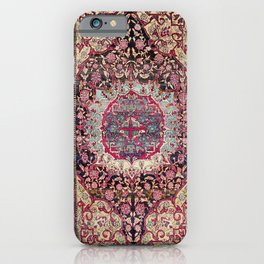 Esfahan  Antique Persian Rug Print iPhone Case