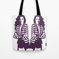 Miranda Kerr Stripes Tote Bag
