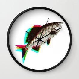 fish + fish + fish Wall Clock