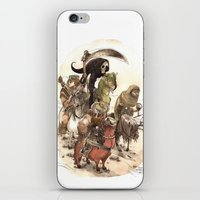 bouletcorp iPhone & iPod Skins featuring Four Horsemen by Bouletcorp