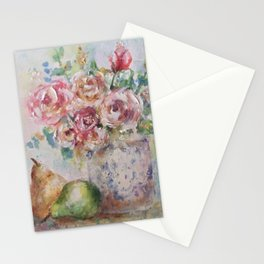 Pear Season Stationery Cards