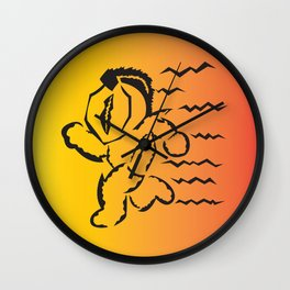 Spartan Runner Wall Clock