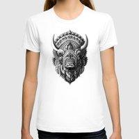 bioworkz T-shirts featuring Bison by BIOWORKZ