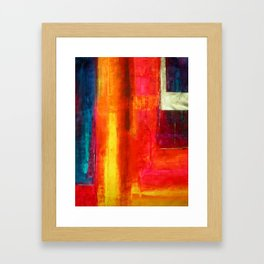 Color Fields II Modern Abstract Art Painting Framed Art Print