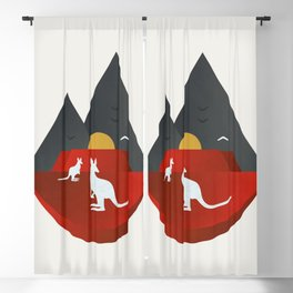 The Australian Outback Blackout Curtain