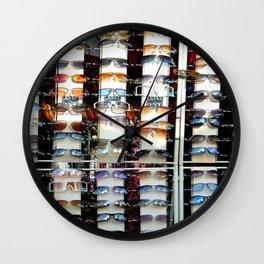 Opti-mism Wall Clock