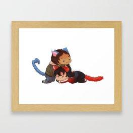 Klance Kitties Framed Art Print