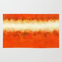 Tangerine Sunshine Rug