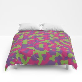 Camouflage Floral Comforters