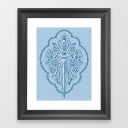 Ornamental Dagger Framed Art Print