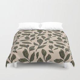 Leaf Pattern Duvet Cover