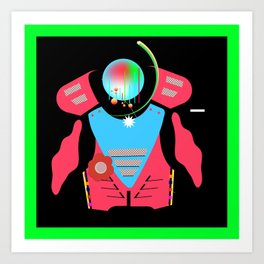 Chest Protector Art Print