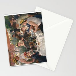 Auguste Renoir - Luncheon of the Boating Party (Le déjeuner des canotiers) Stationery Cards