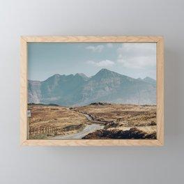 Longest Road, Fairy Pools, Isle of Skye. Framed Mini Art Print