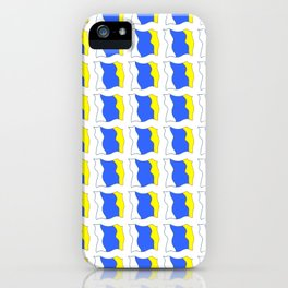 flag of canary islands-canaries,canary,atlantic,canarias,Canarian,canario,canaria,spain,spanish, iPhone Case