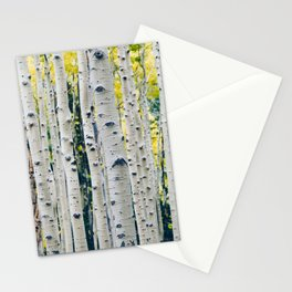 Aspen Forest Tree Bark Stationery Cards
