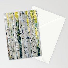 Aspen Forest Tree Bark Stationery Cards