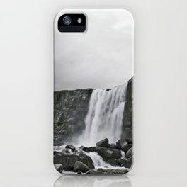 Öxarárfoss iPhone Case