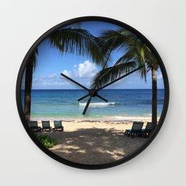 St. Croix Beach Wall Clock
