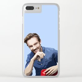 Dan Stevens 2 Clear iPhone Case