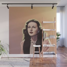 inventor-turned-actress Wall Mural