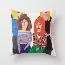 The Bangles Throw Pillow