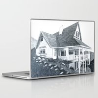 shameless Laptop & iPad Skins featuring House  by BevyArt