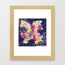 Fairest Flower Framed Art Print