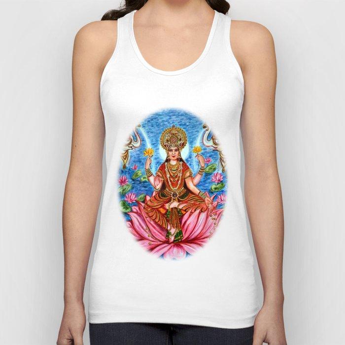 Goddess Lakshmi Unisex Tanktop