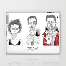The First rule is - Triptych Laptop & iPad Skin
