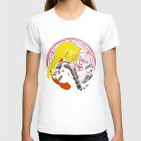 fullmetal T-shirts featuring YELLOW HAIR ALCHEMIST by BradixArt