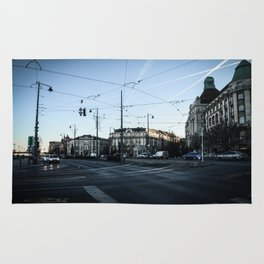 Streets of Budapest Rug