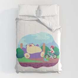 Teeny Tiny Worlds - Route 12 Comforters