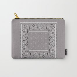 Classic Gray Bandana Carry-All Pouch